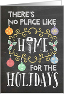There's No Place Like Home for the Holidays - Moving at Christmas card