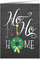 Ho Ho Home - New Address/Moving at Christmas card