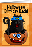 Happy Birthday Bash card