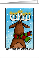 merry christmas - dutch card