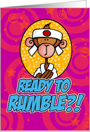 Ready to Rumble card