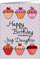 Happy Birthday to my dearest step daughter card