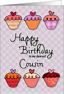 Happy Birthday to my dearest cousin card