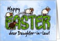Happy Easter dear daughter-in-law card