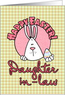 Happy Easter - daughter-in-law card