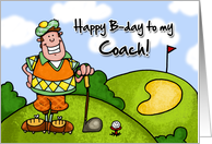 Happy B-day - coach card