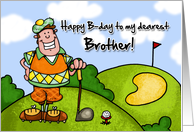 Happy B-day - brother card