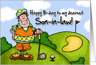 Happy B-day - son-in-law card