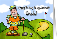 Happy B-day - uncle card