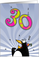 LOOK OUT! Here comes another birthday! - 30 years old card