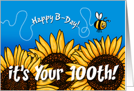 Happy B-day - 100 years old card