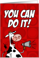 Pediatric Cancer - You Can Do It! card
