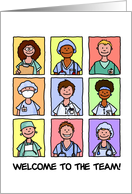 Medical Staff - Welcome to the Team card
