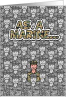 Marine- Happy Father's Day! card