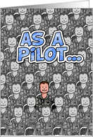 Pilot - Happy Father's Day! card