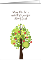 Tree of Life - Rosh Hashanah card