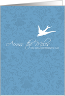 Across the miles - Grandparents Day card