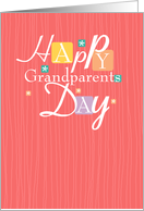 Modern - Grandparents Day Card