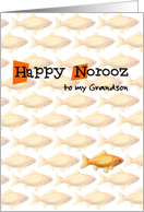 Happy Norooz - to my grandson card