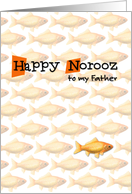 Happy Norooz - to my father card