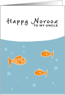 Happy Norooz - to my uncle card