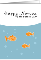 Happy Norooz - to my son-in-law card