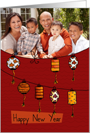 Chinese Lanterns - Chinese New Year card