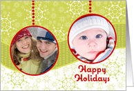 Christmas Ornaments - Customized Photo card