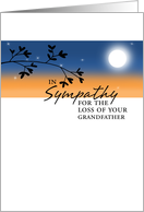 Loss of Grandfather - Sympathy card