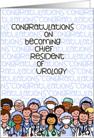 Congratulations - Chief Resident of Urology card