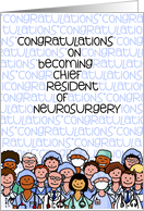 Congratulations - Chief Resident of Neurosurgery card