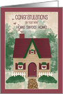 Home Sweet Home Congratulations on New Home card