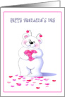 Big Bear Hugs On Valentine's Day Greeting Cards