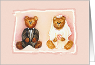 Teddy Bear Bridesmaid Breakfast Invitation card