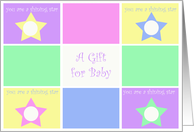 Baby Shower A Gift for Baby card