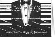 Groomsman Thank You Card