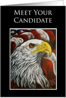 Campaign Meet Your Candidate Political Events Invitation card