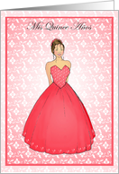 Quinceanera Invitation Cards