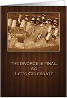 Divorce Is Final Party Invitations card