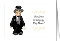 Little Ring Bearer Thank You Cards