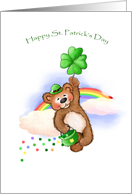 Spreading Some Irish Cheer St Patricks Day Traditional Paper Greeting Cards