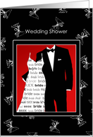 Wedding Shower Invitation for the Bride and Groom To Be card