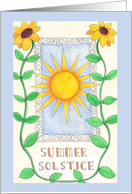 Summer Solstice card