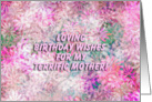 Happy Birthday Terrific Mother! - Verse Inside card