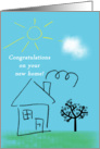 Congratulations on new home card