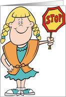 Crossing Guard (Girl) card