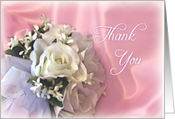 Thank You - Wedding Attendant card