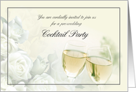 Pre-Wedding Cocktail Party Invitation card