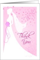Thank You - from Bride card