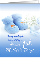 Happy 1st Mother's Day - from Baby Boy card